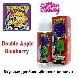 Жидкость They Live - Double Apple Blueberry