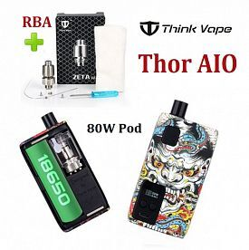 Think Vape Thor AIO 80W Pod Mod Kit (+ RBA)