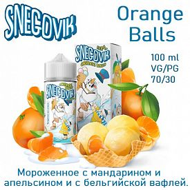 Жидкость Snegovik - Orange Balls 100мл