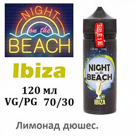 Жидкость Night on the Beach - Ibiza  (120 мл)