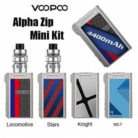 VOOPOO Alpha Zip mini 120W 4400мАч