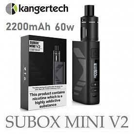 KangerTech Subox Mini V2 50W Kit 2200mAh