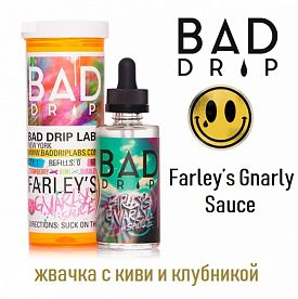 Жидкость BAD DRIP - Farley's Gnarly Sauce (60 мл)