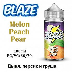 Жидкость Blaze - Melon Peach Pear (100мл)