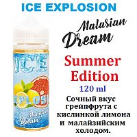 Жидкость Malasian Dream ICE - Summer Editions 120 мл