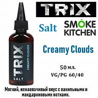 Жидкость Trix Salt - Creamy Clouds 50 мл