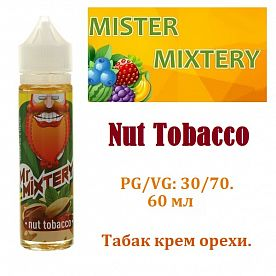 Жидкость Mister Mixtery - Nut tobacco (60мл)