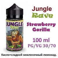 Жидкость Jungle Rave - Strawberry Gorilla (100 мл)