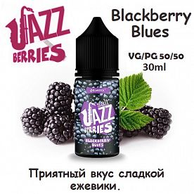 Жидкость Jazz Berries Salt - Blackberry Blues (30мл)