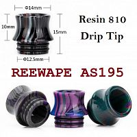 REEWAPE AS195 Resin 810 Drip Tip