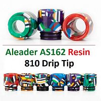 Aleader AS162 Resin 810 Drip Tip