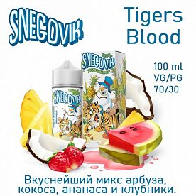 Жидкость Snegovik - Tigers Blood 100мл