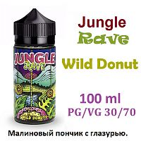 Жидкость Jungle Rave - Wild Donut (100 мл)