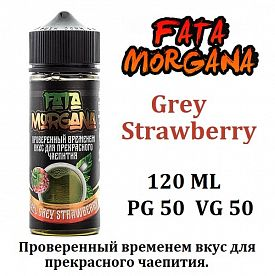 Жидкость Fata Morgana - Earl Grey Strawberry 120мл