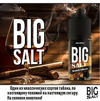 Жидкость Big SALT - West Tobacco 30мл.