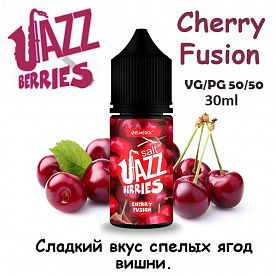 Жидкость Jazz Berries Salt - Cherry Fusion (30мл)