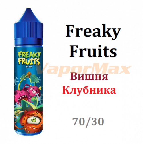 Жидкость Freaky Fruits - Вишня и Клубника