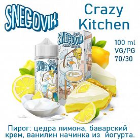 Жидкость Snegovik - Crazy Kitchen 100мл