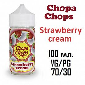 Жидкость Chopa-Chops - Strawberry Cream (100ml)