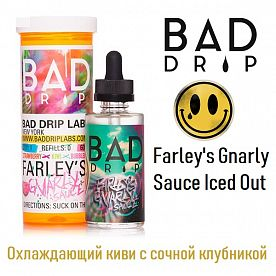 Жидкость BAD DRIP - Farley's Gnarly Sauce Iced Out (60 мл)