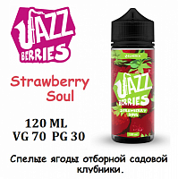 Жидкость Jazz Berries - Strawberry Soul (120 мл)