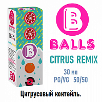 Жидкость Balls salt - Citrus Remix 30мл.