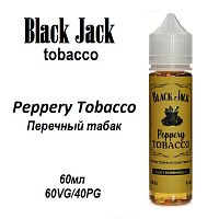 Жидкость Black Jack - Peppery Tobacco