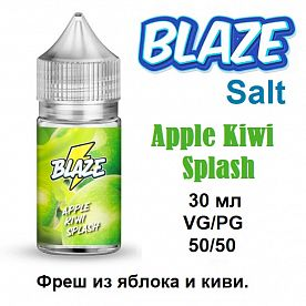 Жидкость Blaze Salt - Apple Kiwi Splash (30мл)