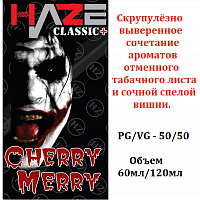 Жидкость HAZE Classic PLUS - Cherry Merry.