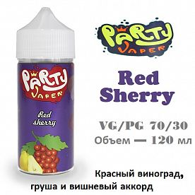 Жидкость Party Vaper - Red Sherry (120 мл)