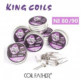 Coil Father King Pre-made Coils