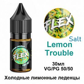 Жидкость Flex Salt - Lemon Trouble (30мл)