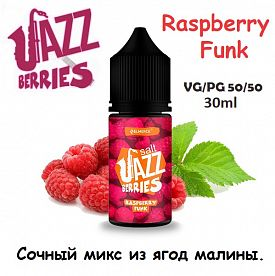 Жидкость Jazz Berries Salt - Raspberry Funk (30мл)