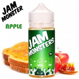 Жидкость Jam Monsters - Apple (clone premium)