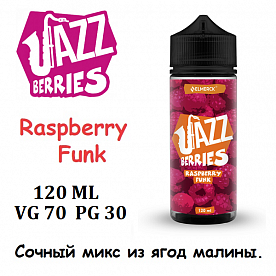 Жидкость Jazz Berries - Raspberry Funk (120 мл)