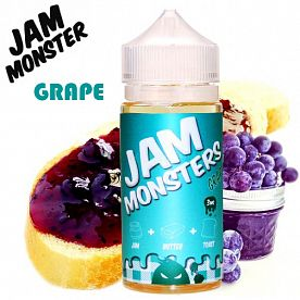 Жидкость Jam Monsters - Grape (clone premium)