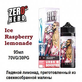 Жидкость Zero Hero - Ice Raspberry lemonade (95мл)