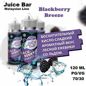 Жидкость Juice Bar - Blackberry Breeze (120мл)