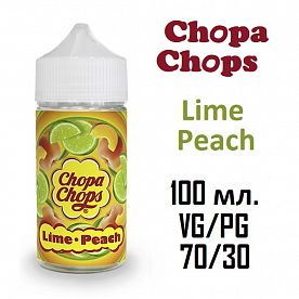 Жидкость Chopa-Chops - Lime Peach (100ml)