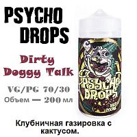 Жидкость Psycho Drops - Dirty Doggy Talk Salt (200 мл)