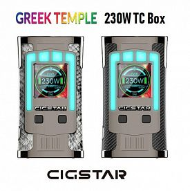 Cigstar Greek Temple 230W TC mod