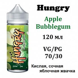 Жидкость Hungry - Apple Bubblegum 120 мл