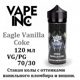 Жидкость Vape Inc - Eagle Vanilla Coke (120 мл)