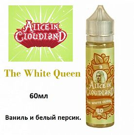 Жидкост Alice in Cloudland - The White Queen (60ml)