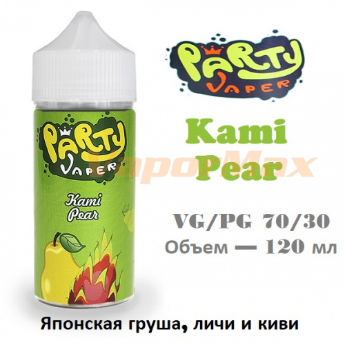 Жидкость Party Vaper - Kami Pear (120 мл)