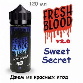 Жидкость Fresh Blood v2.0 - Sweet Secret (120 мл)