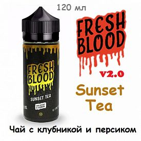 Жидкость Fresh Blood v2.0 - Sunset Tea (120 мл)