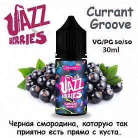 Жидкость Jazz Berries Salt - Currant Groove (30мл,)