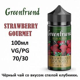 Жидкость Greenferiend - Strawberry Gourmet 100мл