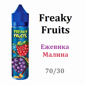 Жидкость Freaky Fruits - Ежевика и Малина
